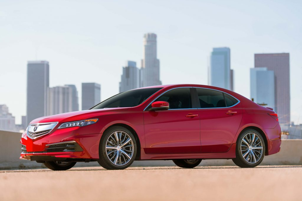 2017 Acura TLX with GT Package - front