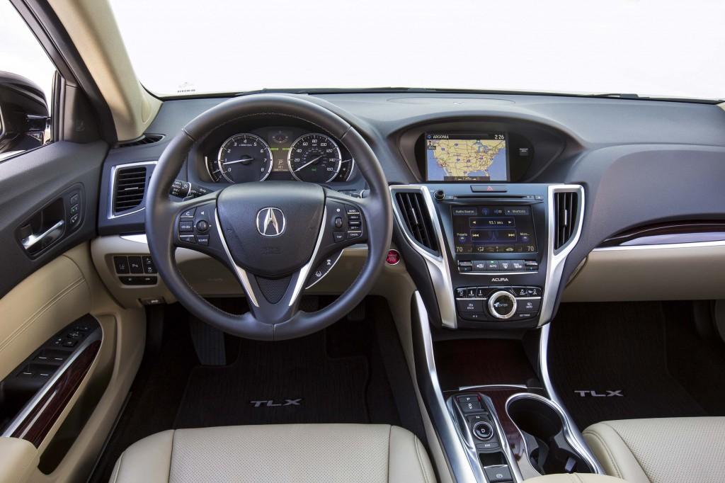 MY2015 Acura TLX interior