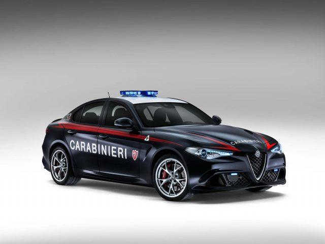 2016 Alfa Romeo Giulia Quadrifoglio Carabinieri Edition