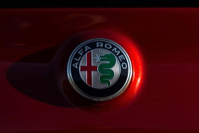 2017 Alfa Romeo Giulia Quadrifoglio - trunk badge