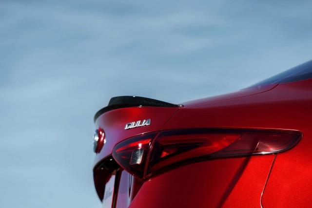 2017 Alfa Romeo Giulia Quadrifoglio - trunk