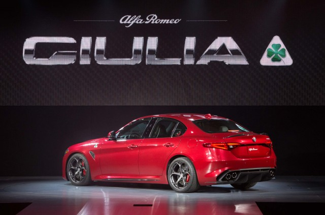 2017 Alfa Romeo Giulia Quadrifoglio - US launch event