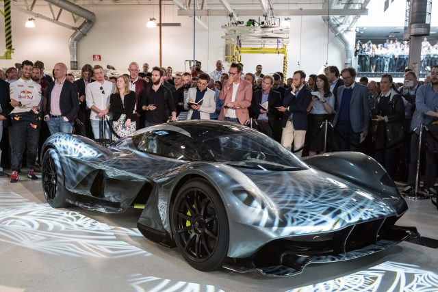 Aston Martin AM-RB001 - front, launch event
