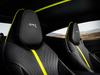 2018 Aston Martin DB11 AMR Signature Edition - seat, black with yellow stripe