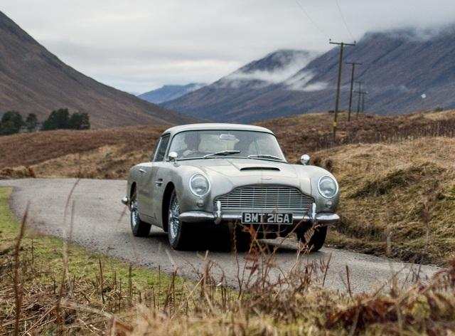 Aston Martin DB5 in Skyfall