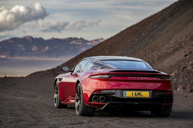 2019 Aston Martin DBS Superleggera - rear