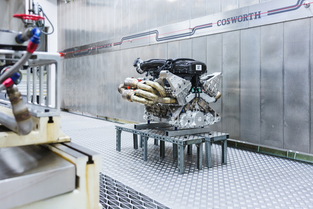 Aston Martin Valkyrie V12 engine by Cosworth
