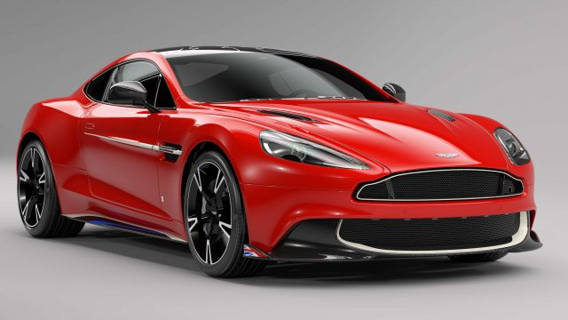 2017 Aston Martin Vanquish S Red Arrows Edition - front