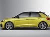 2018 Audi A1 Sportback - side, yellow