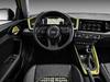 2018 Audi A1 Sportback - interior, dashboard, yellow