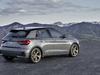 2018 Audi A1 Sportback - rear, gray
