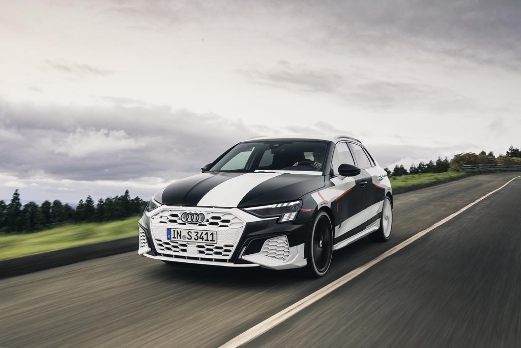 Audi A3 Sportback Prototype (2020, fourth generation) photos