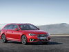 2019 Audi A4 Avant S line competition facelift - red, front