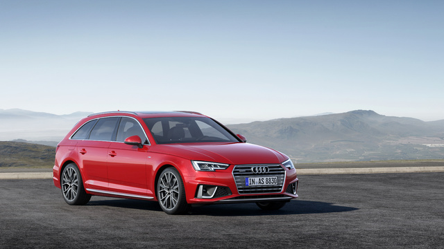 Audi A4 Wagon 2019 Facelift B9 Type 8w Fifth Generation Photos