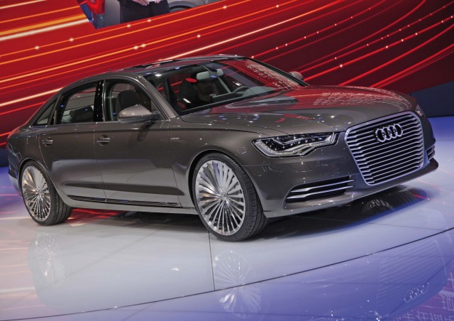 audi a6 e tron plug in hybrid to be made in china long. Black Bedroom Furniture Sets. Home Design Ideas