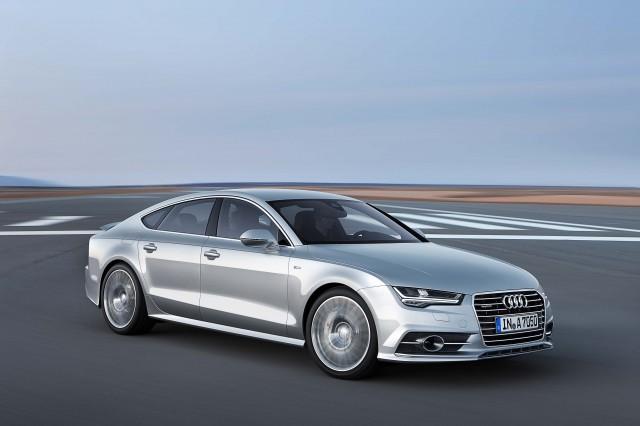 4G Audi A7 facelift