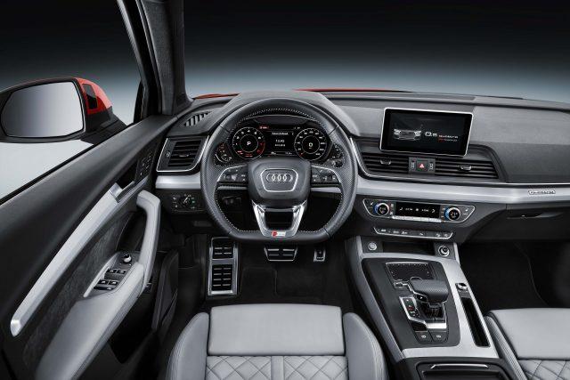 2017 Audi Q5 - interior, dashboard