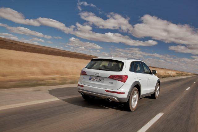 Audi Q5 facelift - rear