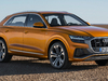 Audi Q8 - front, dragon orange
