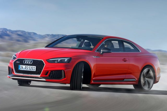 Audi Rs5 Coupe 2017 Second Generation Photos Between