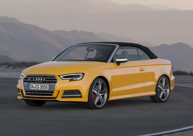 audi s3 cabrio type 8v facelift 2016 photo gallery between the axles. Black Bedroom Furniture Sets. Home Design Ideas