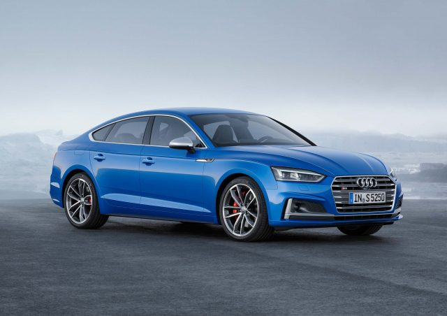 2018 Audi S5 Sportback Familiar Second Gen Hatch On Sale 2017
