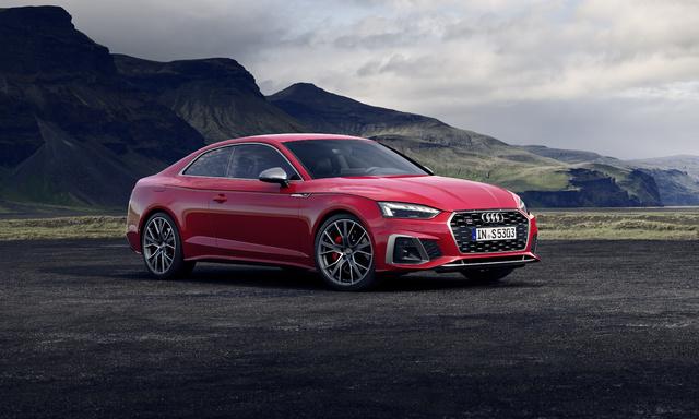 2020 Audi S5 TDI coupe facelift
