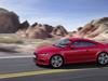 2019 Audi TT coupe facelift - side, red