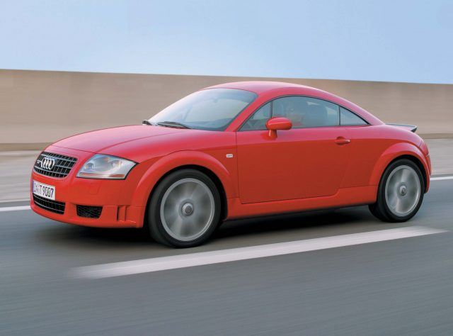 Mark I Audi TT coupe - front, red