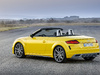 2019 Audi TT Roadster S-Line facelift - rear, top down, yellow