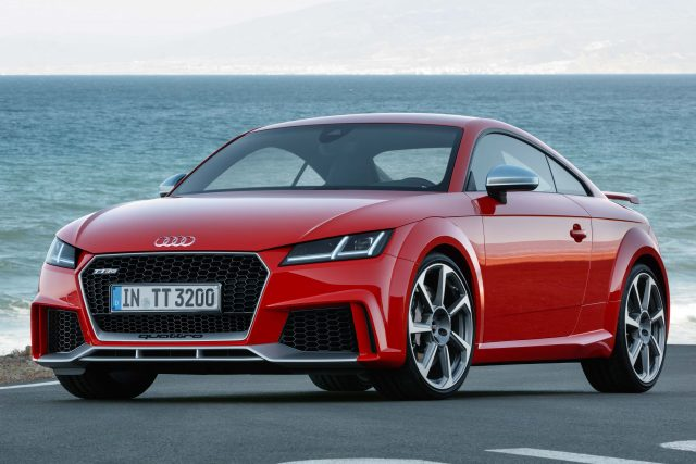 8S Audi TT RS coupe - front
