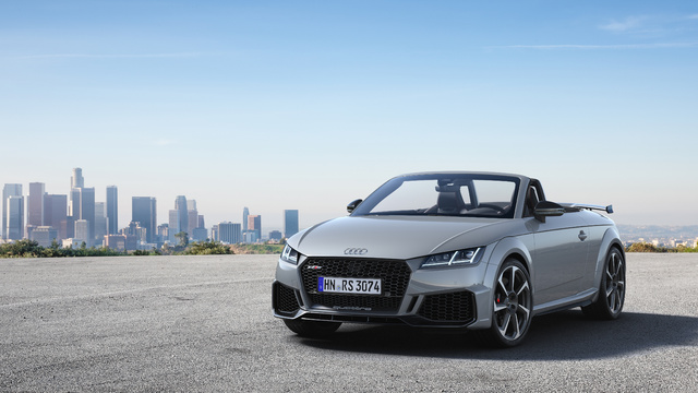 2019 Audi TT RS Roadster facelift