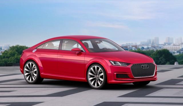 Audi TT Sportback concept - front