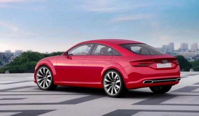 Audi TT Sportback concept - rear