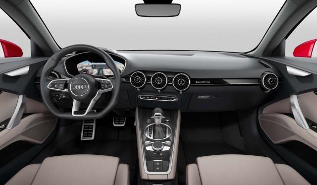 Audi TT Sportback concept - virtual cockpit dashboard