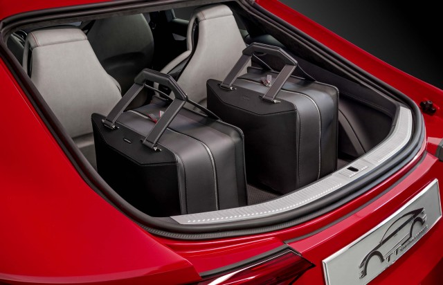 Audi TT Sportback concept - boot compartment