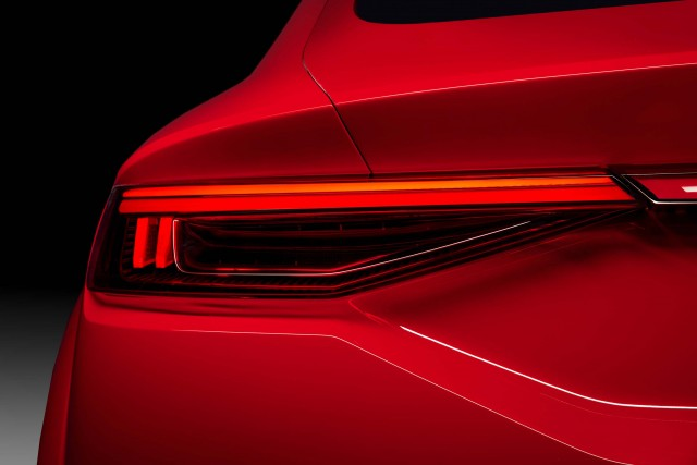 Audi TT Sportback concept - tail-lights