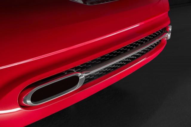 Audi TT Sportback concept - exhaust and diffuser