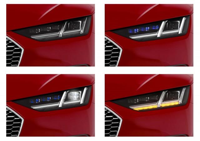 Audi TT Sportback concept - headlights