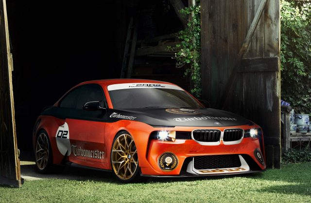 Bmw 2002 Hommage Concept In Turbomeister Livery 2016 Photos