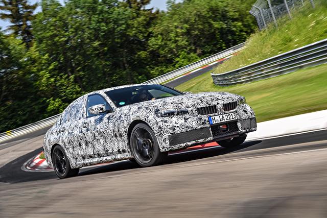 2019 BMW 3-Series prototype testing
