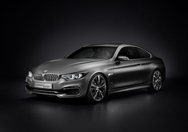 BMW 4-Series Coupe Concept - front