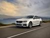 BMW 640i Gran Turismo xDrive M Sport - front, white, driving