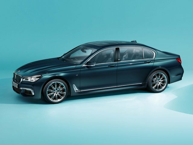 2017 BMW 7-Series 40 Jahre - front, blue