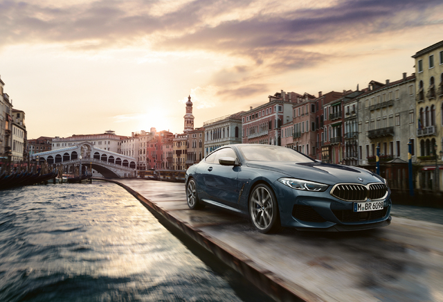 Bmw 8 Series Coupe Ad Shoot Venice 2019 G15 Second Generation
