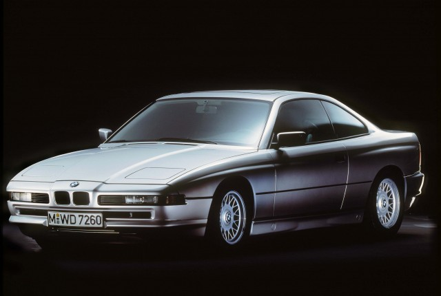 E31 BMW 8 Series - front