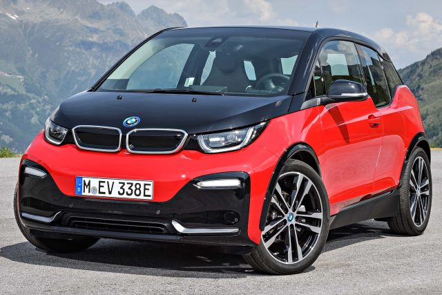 2018 BMW i3s facelift - front, red and black