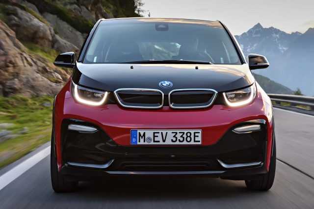 2018 BMW i3s facelift - front
