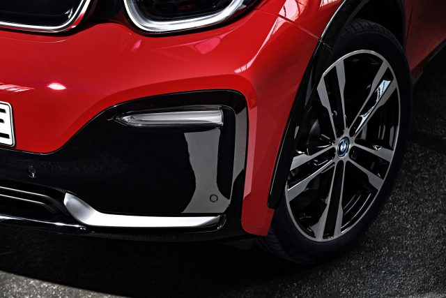 2018 BMW i3s facelift - new front bumper