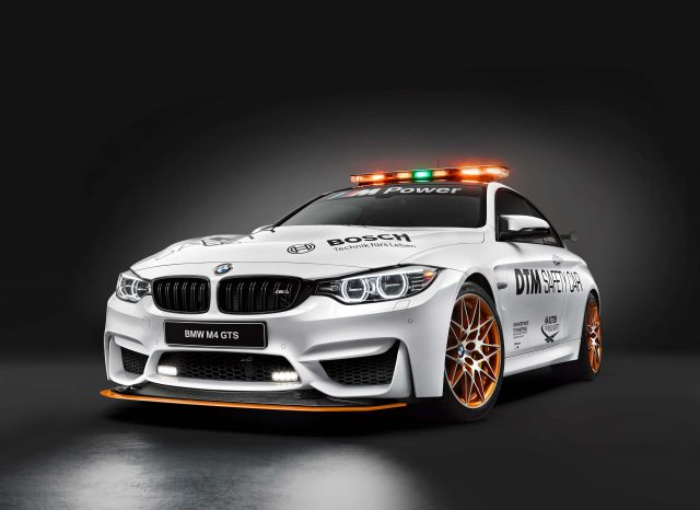 2016 BMW M4 GTS DTM Safety Car - front